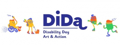 Dida Disability Day Art & Action logobanneri